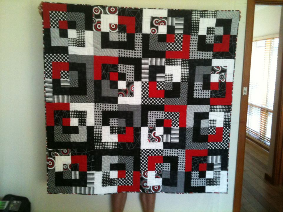 Some Of My Quilts Small Red Star