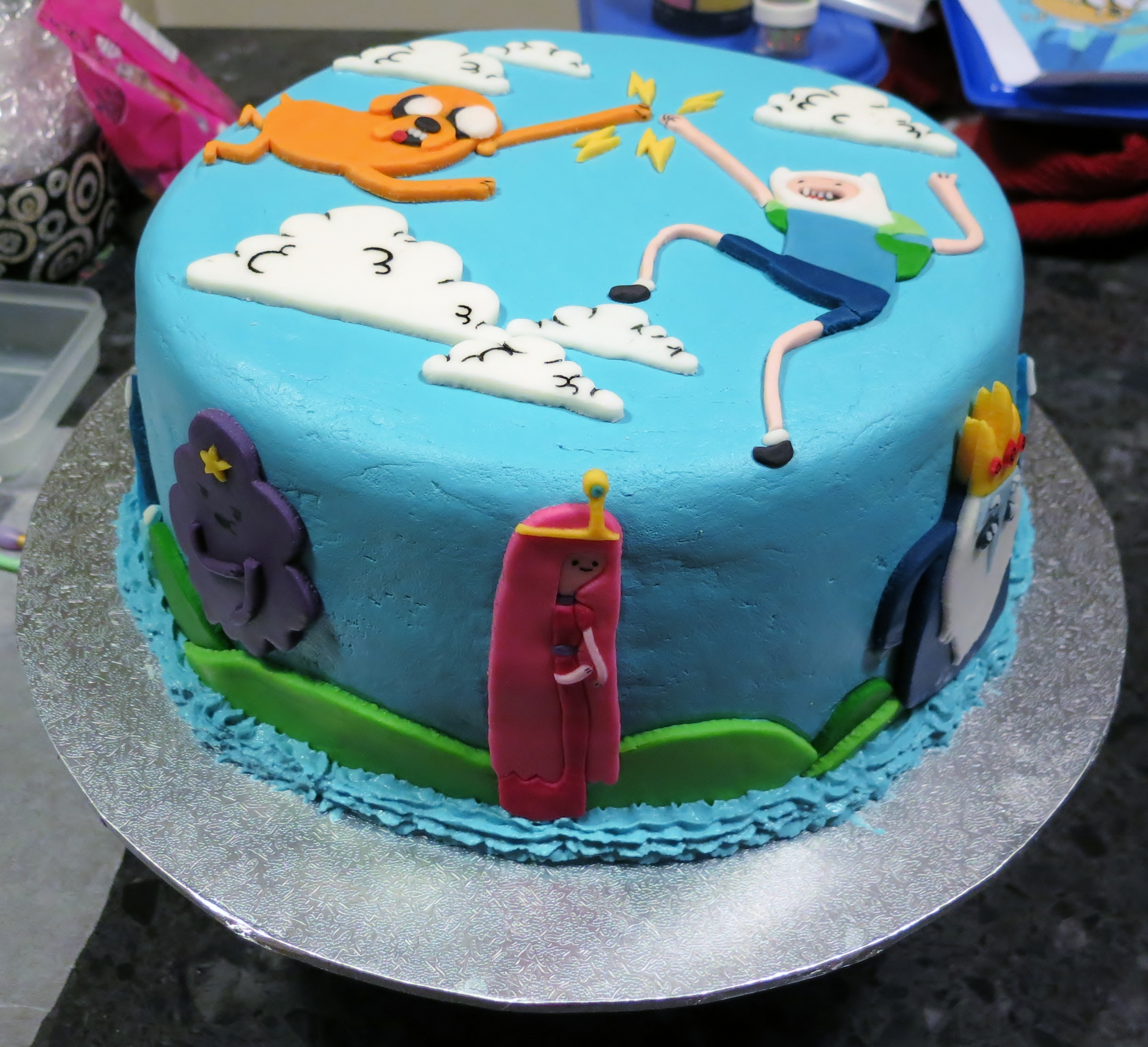 Cake Design Adventure Time : Adventure Time Cake   Part 2: How I made the figures ...